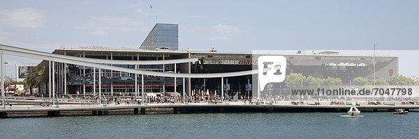 Hafen Port Vell  Barcelona  Katalonien  Spanien  Europa