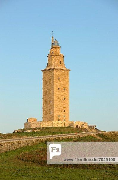 Leuchtturm Galicien römisch Spanien