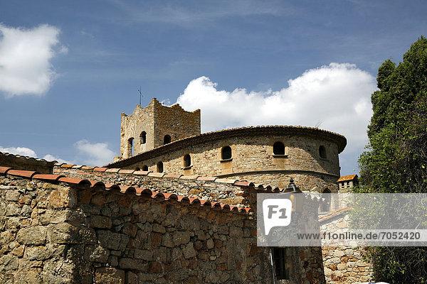 Altstadt von Pals  Katalonien  Spanien  Europa