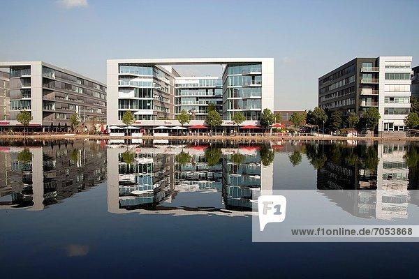 Binnenhafen Hafen Europa Architektur Duisburg Deutschland modern Nordrhein-Westfalen Nordrhein-Westfalen Binnenhafen,Hafen,Europa,Architektur,Duisburg,Deutschland,modern,Nordrhein-Westfalen,Nordrhein-Westfalen