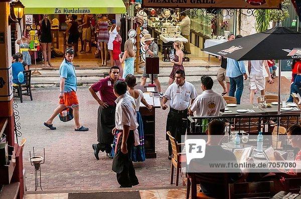 Straße  kaufen  Mexiko  Fußgänger  Quintana Roo  Riviera Maya