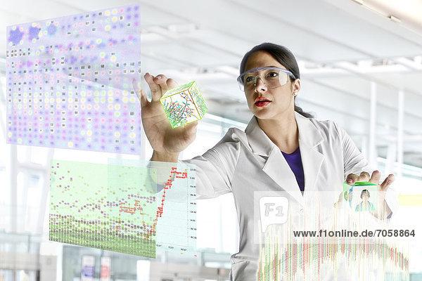 Wissenschaft Wissenschaftler arbeiten mischen Mixed