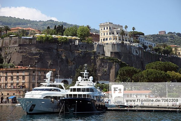 Mandatory Credit: Photo by Ros Drinkwater / Rex Features (1872703m) Sorrento Harbour Italy - 2012