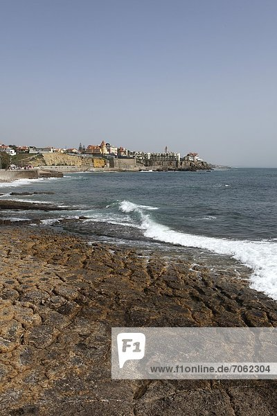 Mandatory Credit: Photo by Stuart Forster / Rex Features (1866022at) Coastal bay at Cascais Portugal - 2012
