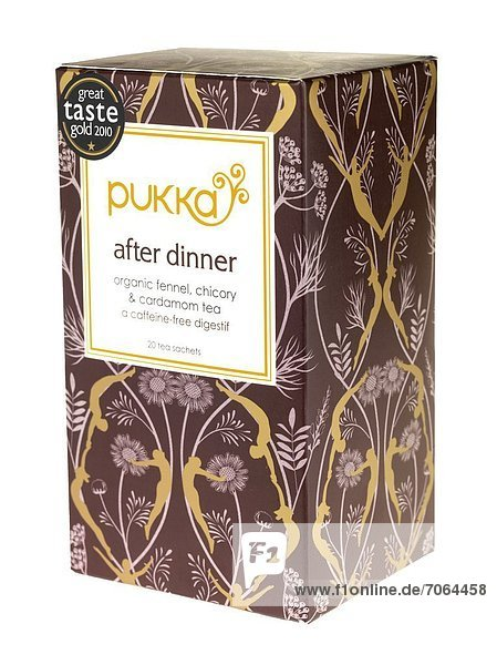 Mandatory Credit: Photo by Martin Lee / Rex Features (1918660w) Pukka After Dinner Tea Bags Various