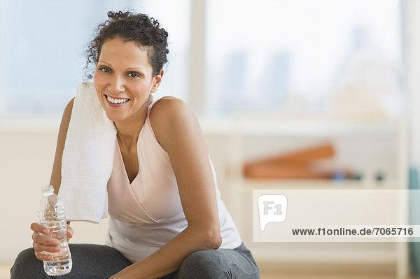 Fitness-Studio  Portrait  Frau