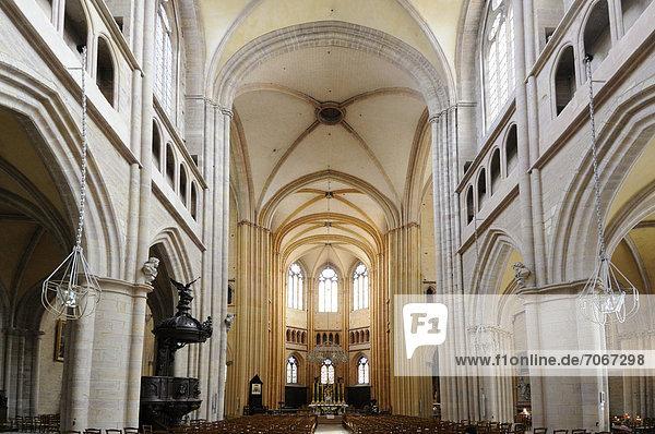 Sainte Begnine Kathedrale  Dijon  CÙte d'Or  Burgund  Frankreich  Europa