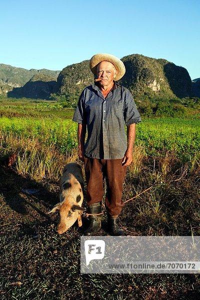 Landwirtin Kuba