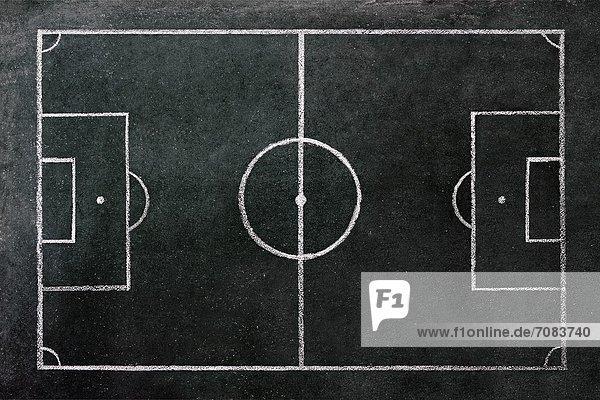 Spielfeld  Sportfeld  Sportfelder  Schreibtafel  Tafel  Zeichnung  Football