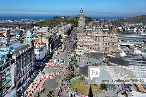 Edinburgh Hauptstadt Großbritannien Schottland