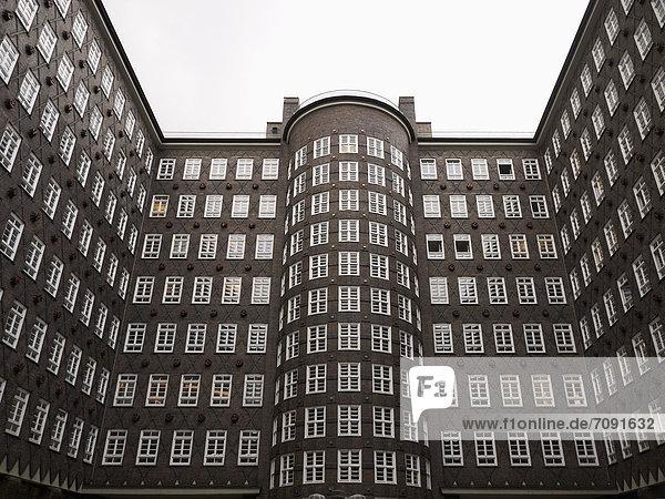 Deutschland  Hamburg  Blick auf den Sprinkenhof Deutschland, Hamburg, Blick auf den Sprinkenhof