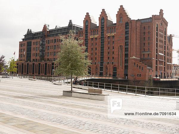 Deutschland  Hamburg  Ansicht von International Maritime Deutschland, Hamburg, Ansicht von International Maritime