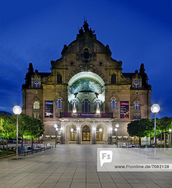 Deutschland  Bayern  Nürnberg  Blick auf das Staatstheater Deutschland, Bayern, Nürnberg, Blick auf das Staatstheater