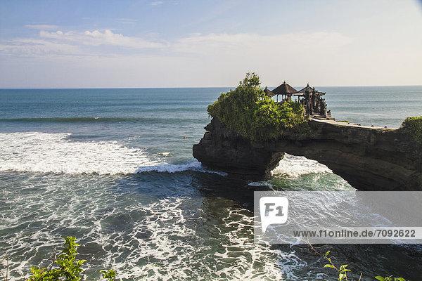 Indonesia  Bali  View of Batu Bolong Temple
