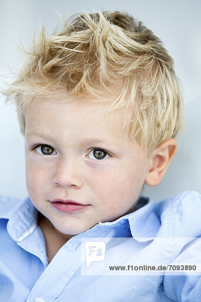 Germany  Portrait of boy
