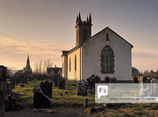 Church and graveyard  Ardagh  County Longford  Ireland.
