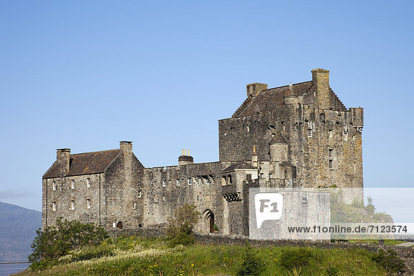 Europa  Urlaub  Palast  Schloß  Schlösser  Großbritannien  Küste  Reise  Meer  Highlands  Schottland  schottisch  Tourismus