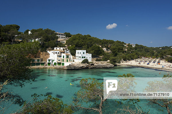 Außenaufnahme  Europa  Tag  europäisch  Strand  Küste  niemand  Meer  Insel  Mallorca  Sandstrand  Balearen  Balearische Inseln  freie Natur  Spanien  spanisch