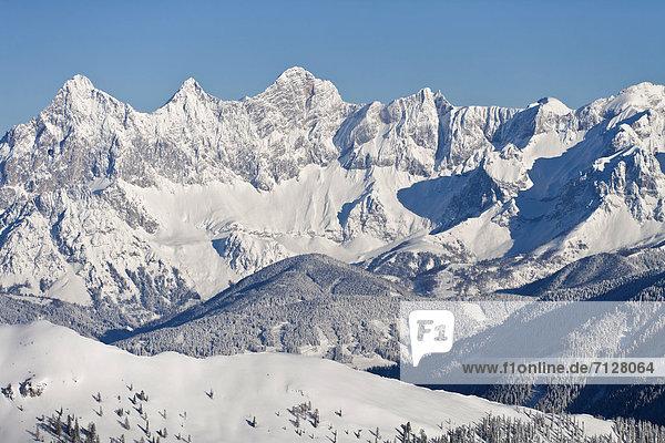 Europa  Berg  Winter  Österreich