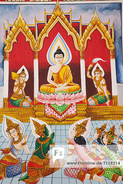 Asia  Laos  Vientiane  Pha That Luang  Temple  Temples  Buddha  Buddhist  Buddhism  Buddhist Temple  Interior  Holiday  Vacation  Tourism  Travel
