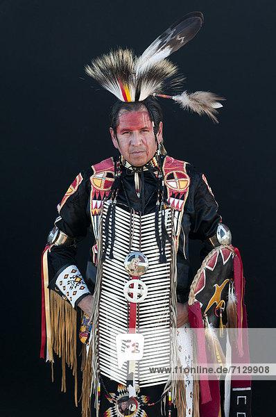 Vereinigte Staaten von Amerika  USA  Amerika  Indianer  Nordamerika  Kostüm - Faschingskostüm  Sioux  South Dakota