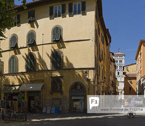 Europa Wohnhaus Toskana Italien Lucca Tourismus