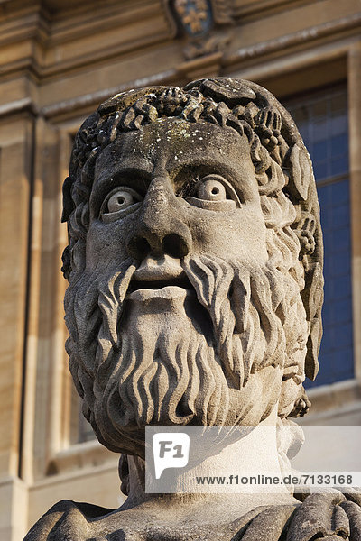 Europa  britisch  Großbritannien  Apostel  England  Oxford  Oxford University  Oxfordshire