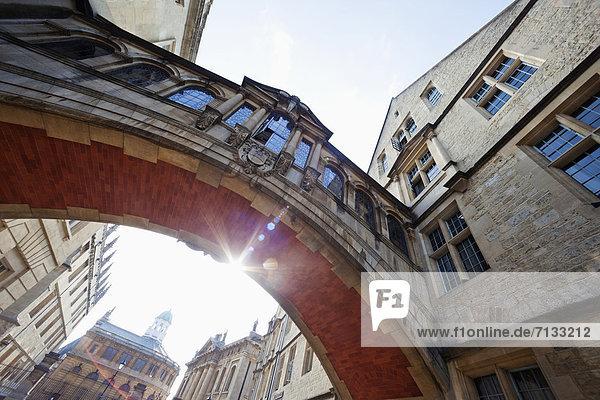 Europa  unterrichten  britisch  Großbritannien  Student  Seufzerbrücke  England  Oxford  Oxford University  Oxfordshire  Universität