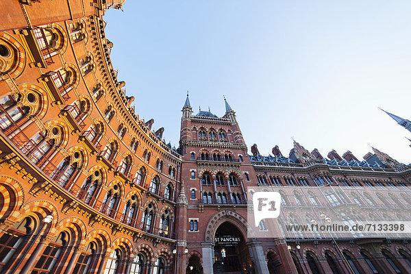Europa  britisch  Großbritannien  London  Hauptstadt  Hotel  Architektur  Renaissance  England