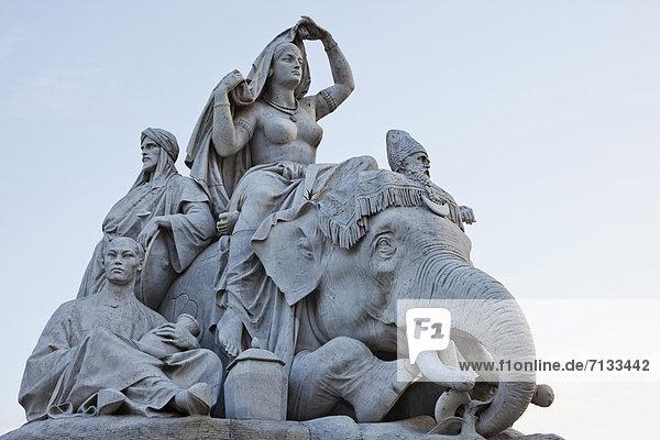 Denkmal  Europa  britisch  Großbritannien  London  Hauptstadt  Prince Albert National Park  England