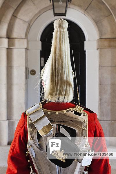 Europa britisch Großbritannien London Hauptstadt Innenaufnahme Museum Horse Guards Parade England Militär Whitehall