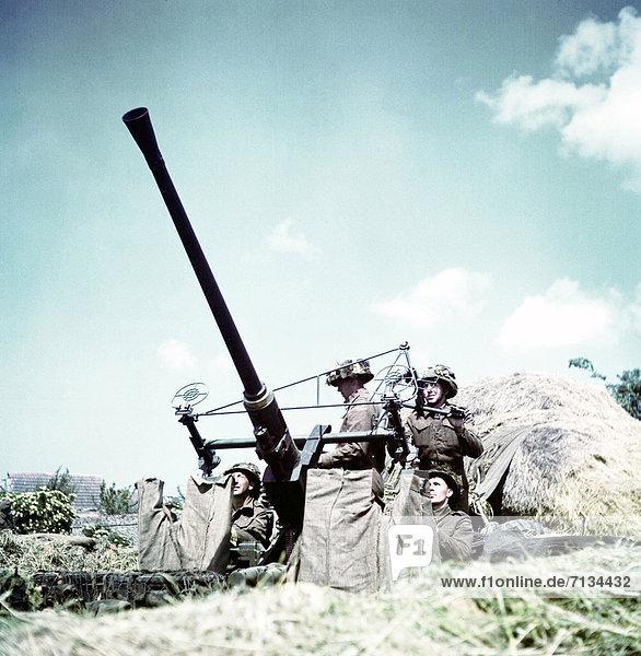 Frankreich  Soldat  kanadisch  Normandie