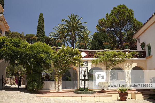 Europa Eingang Zimmer Blanes Katalonien Costa Brava Spanien
