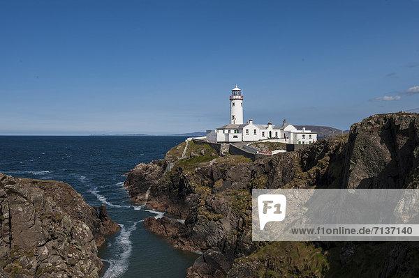 Leuchtturm  Fanad Head  Halbinsel Fanad  County Donegal  Republik Irland