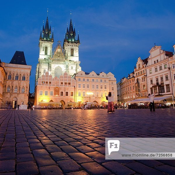 Prag  Hauptstadt  Europa  Kirche  Tschechische Republik  Tschechien  Tyn  Mutter - Mensch  Gott