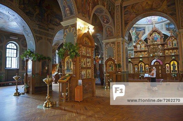 Vydubychi Kloster  Kiew  Ukraine  Europa