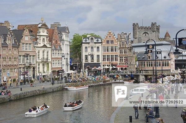 Europa Lifestyle Gebäude vorwärts Menschenreihe Alltagsleben Barock Bank Kreditinstitut Banken Belgien