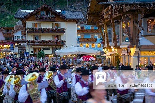 Europa Trentino Südtirol Canazei Italien Trentino-Südtirol