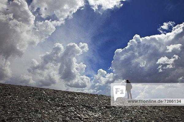 Wolke  Klettern  Berg  Anden  Bolivien  Königskordillere  Cordillera Real  Südamerika