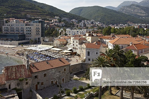 Europa  Wand  Stadt  Montenegro  alt