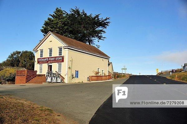 Stewarts Point Store  Sonoma County  California  USA