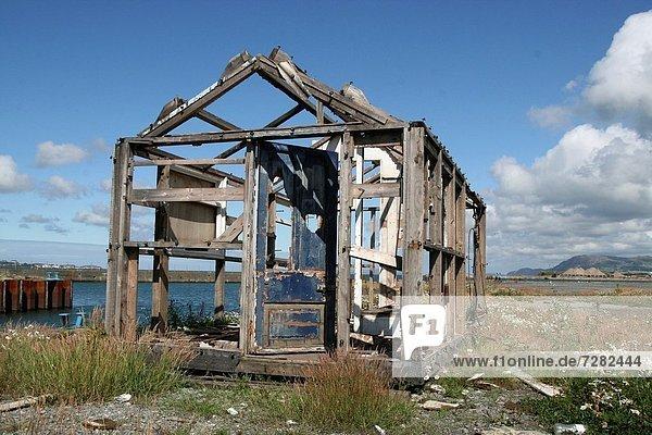 britisch Großbritannien Eigentum Meer groß großes großer große großen Ruine North Wales