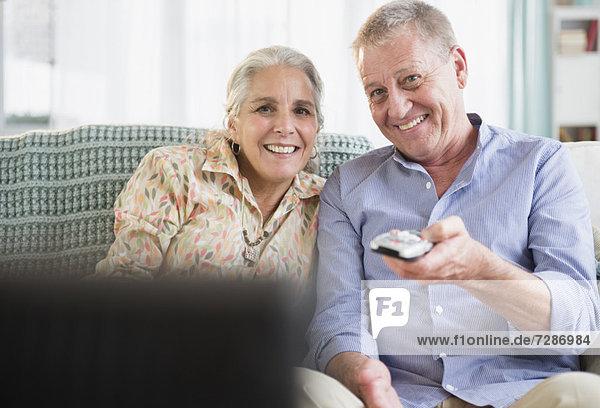 sehen  Senior  Senioren  Fernsehen