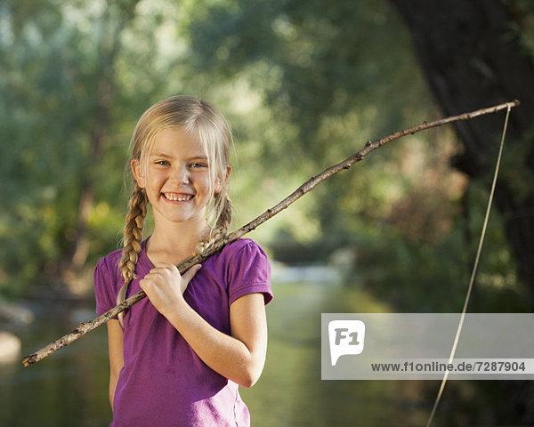 klein Stange halten angeln 5-6 Jahre 5 bis 6 Jahre Mädchen