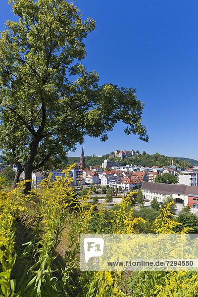 Germany  Baden Wuerttemberg  View of Hellenstein Castle at Heidenheim an der Brenz