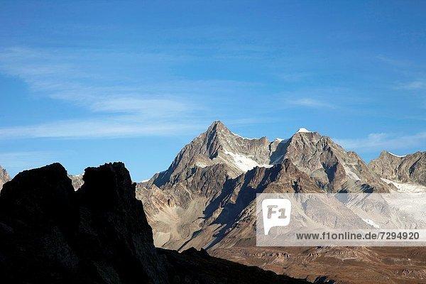 Alpen schweizerisch Schweiz Zermatt