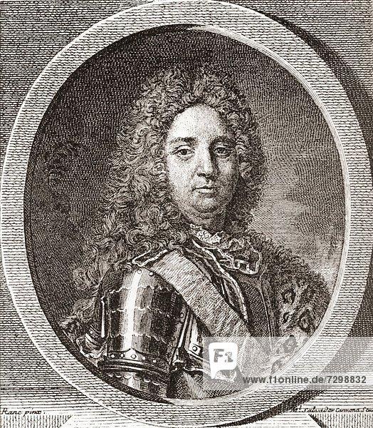 François-Marie de Broglie  1st Duke of Broglie  1671 – 1745 French military leader From Les Heures Libres published 1908