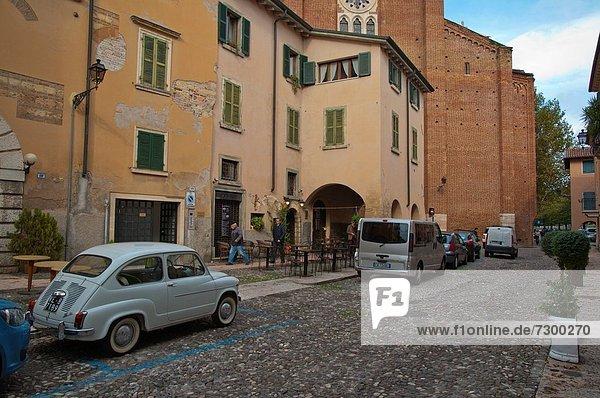 Europa Straße Stadt Großstadt Geographie Venetien alt Verona