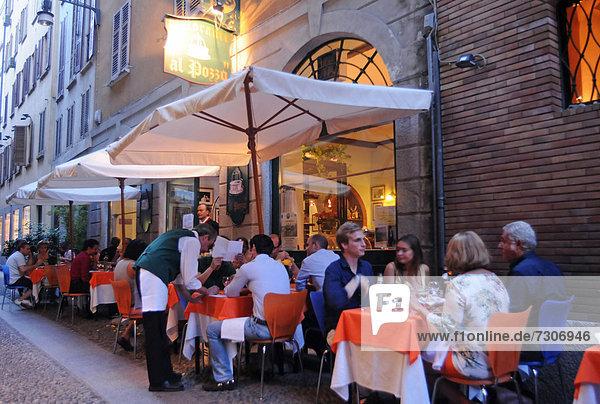 Italien  Lombardei  Mailand  Brera Quartal
