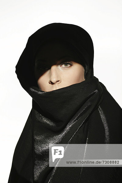 Beauty portrait  Arab-style